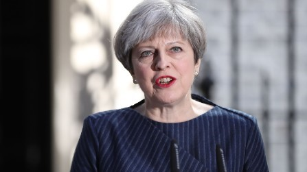 UK Prime Minister Theresa May - could a politician's promise be insured?