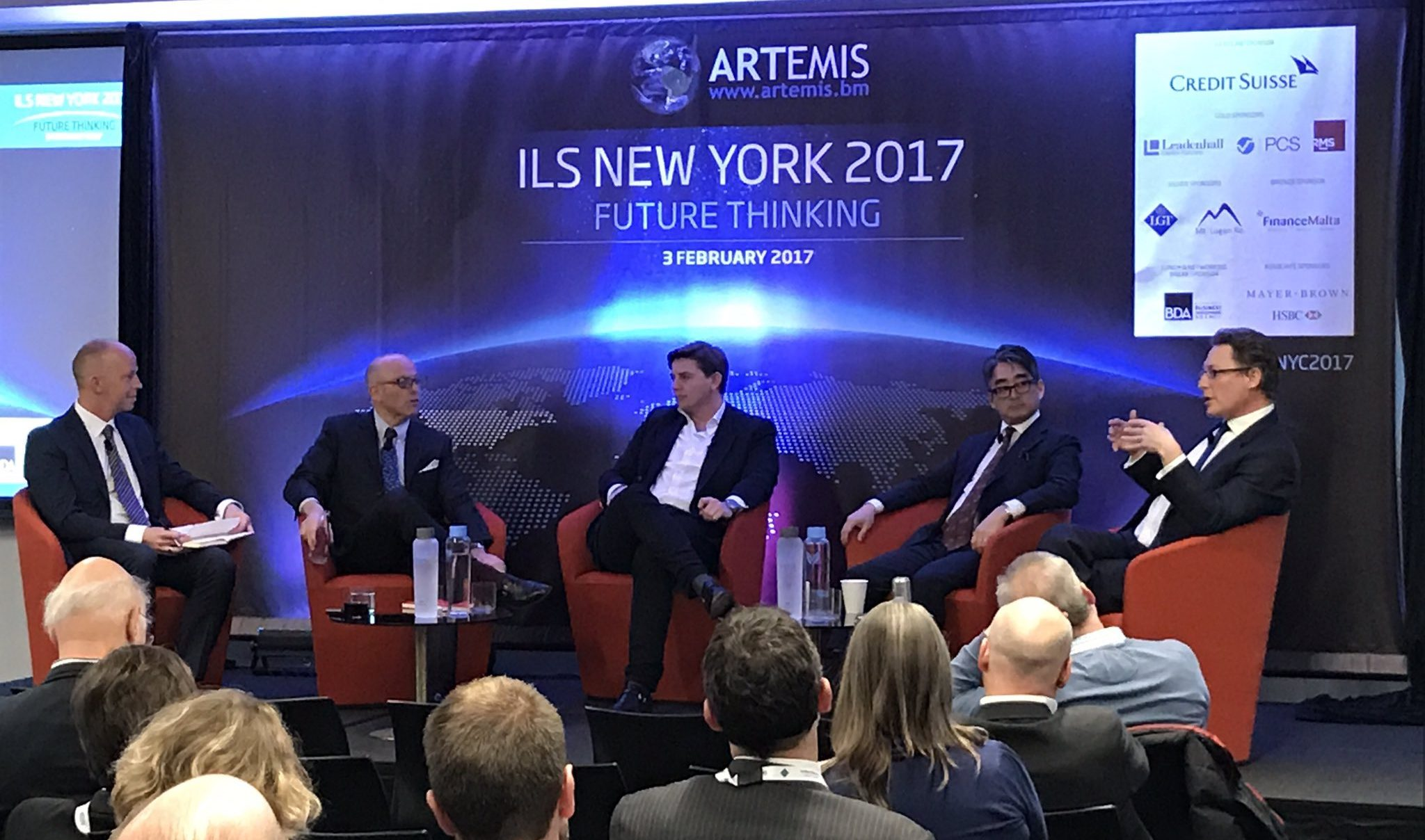 A panel at the well-received Artemis' ILS NYC 20