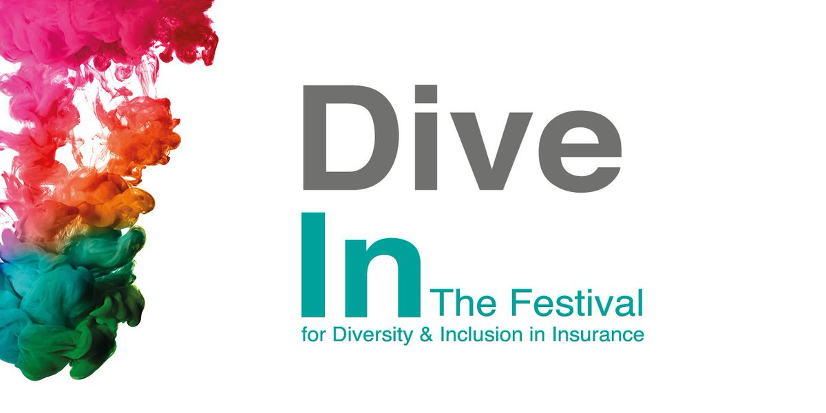 Dive In Festival - diversity and inclusion in insurance - logo
